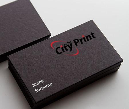 700 gsm business cards printed within the hour - Business Card Printing Services