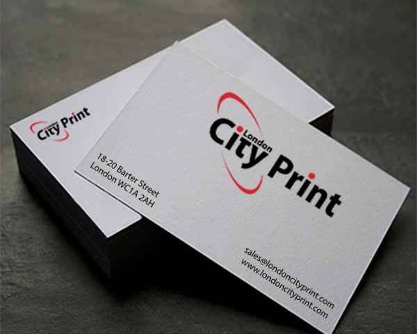 business cards London City Print